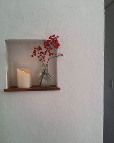 Laurel Wreath, Fairy Godmother, Candle Sconces, Floating Shelves, Entrance, Wall Lights, Old Things, Room, Inspiration