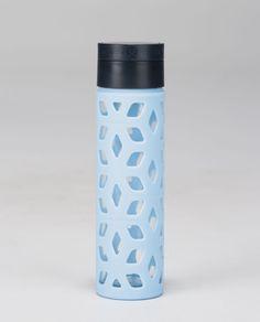 pure focus glass water bottle   women's water bottles   lululemon athletica