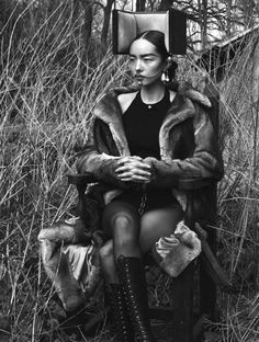 Fei Fei Sun by Mert Alas & Marcus Piggott for Vogue Italia June 2015 | Editorial Inspiration | @jovanazuka