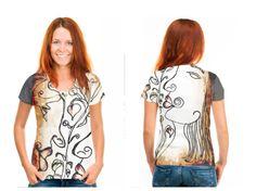 Love Tangled artist designed shirt.