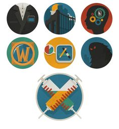 Assorted Iconography   Justin Mezzell