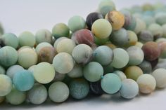 amazonite, matte round bead 12mm, frosty bead, blue, round, stone bead, gemstone bead, beading, jewelry bead, jewelry supply, jewelry making