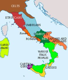 The first Italic tribes to enter the Italian peninsula, moved across the eastern Alpine passes into the plain of the Po River about 1800 BC.