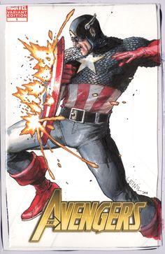 Cap America Commission by ~leinilyu on deviantART