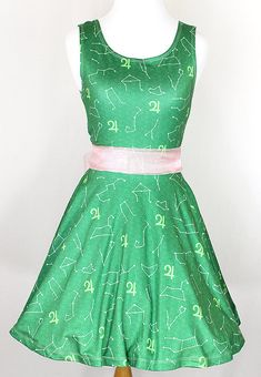 Hey, I found this really awesome Etsy listing at https://www.etsy.com/listing/237129311/sailor-jupiter-zodiac-green-dress-made