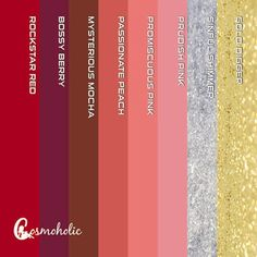 Cosmoholic liquid lipstick  8 shades