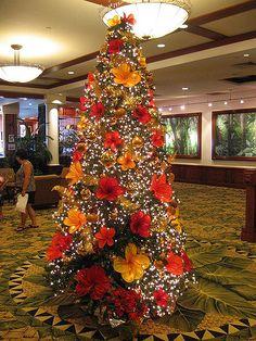 Hawaiian Christmas Tree | You can't escape the Xmas! | Flickr