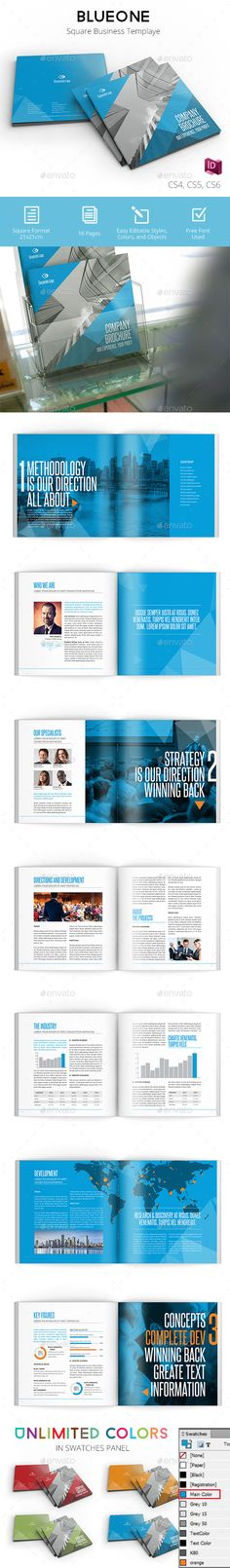Corporate Business Brochure 16 Pages A4 Templates, Corporate - business report templates