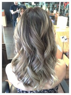balayage ash blonde asian hair - Google Search