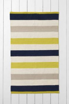 Rugby Striped Rugs from Lands' End. These just kind of screamed Sarah.  $64