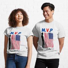Joe Biden, Model Look, Presidential Election, Shirt Shop, Tshirt Colors, Chiffon Tops, American Flag, Female Models, Classic T Shirts