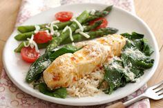 Foil-Pack Fish Florentine for Two Recipe - Kraft Canada  I am going to try this in my Epicure Steamer instead of foil... Sounds like a quick easy healthy dinner