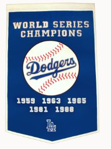 Los Angeles Dodgers  World Series Championships