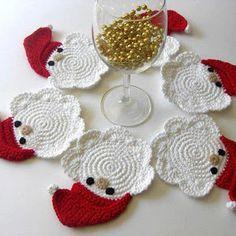 CROCHE DA ANJINHA: Ideias de Croches para o Natal
