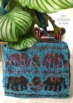 DELICIOUS NEW TURQUOISE ELEPHANT SATCHEL SHOULDER BAG BOHO HANDBAG HIPPY GYPSY #Unbranded #ShoulderBags