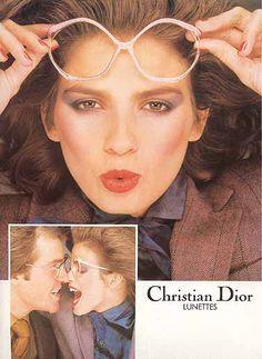 Vintage Dior 80s ad