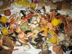 Crab Pot Lunch