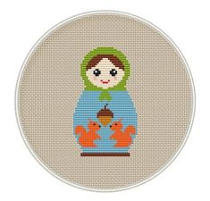 Poupée russe Croix broderie téléchargement par MagicCrossStitch