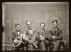 Hampton Hirscham, Cornellius Joseph Keevil, William Thomas O'Brien and James O'Brien – July 20, 1921