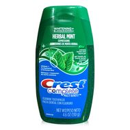 Crest Complete Fluoride Whitening Toothpaste Herbal Mint Liquid Gel 4.6oz. #buythecase