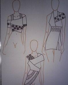 #pearls #draw #drawing #stabilo #pen #design #designer #fashiondesign #fashiondesigner #style #stylist #blouse #shirt #top #african #boho #bohemian #ethnic #ethno