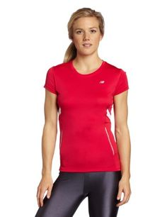 The Colorblock Short Sleeve Tempo truly performs, keeping you cool and comfortable with Lightning Dry; technology. Featuring reflectivity and a flattering fit, this top is so perfect for all your fitness needs that you'll want more than one!