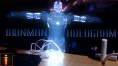 Realistic Iron Man Hologram | Adobe After Effects