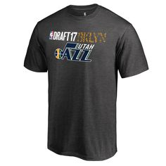 534412f96f4 Men's Fanatics Branded Heather Gray Utah Jazz 2017 NBA Draft BKLYN T-Shirt  Klassieke Stijl