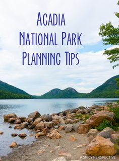 Planning Tips for Acadia National Park Maine - on ASpicyPerspective. Arcadia National Park, Us National Parks, East Coast Travel, East Coast Road Trip, New England States, New England Travel, Au Pair, Long Island, Oh The Places You'll Go