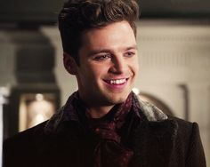 Sebastian Stan. Going to miss him but I am totally excited at the prospect of a second OUAT show!