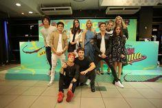 Jorge, Agustín, Malena, Lionel,Gastón, Valentina, Ruggero, Luna, Carolina y Chiara