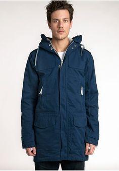ADIDAS BLUE M Sporty Parka Adidas Originals, The Originals, Blue Adidas, Parka, Raincoat, Sporty, Jackets, Shopping, Fashion