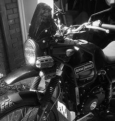 Headlight done right ... Custom Royal Enfield Himalayan from Rewindmc