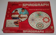 Spirograph! Loved this so much -- it seemed magical!!! :-) Q