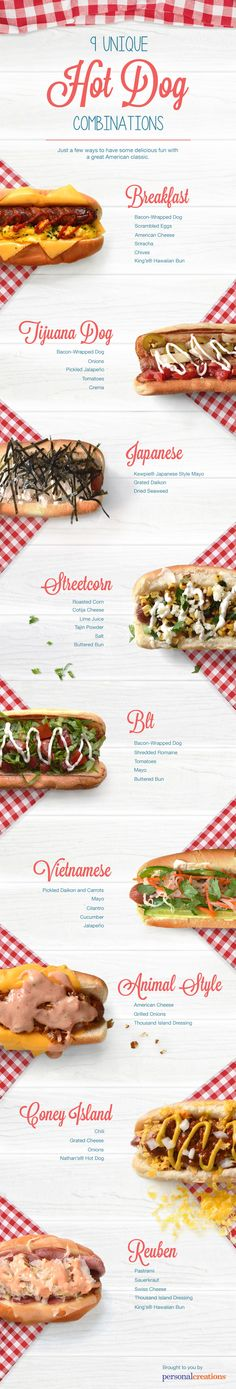 Still Cracking » Its Your Time To Laugh!9 Unique Hot Dog Combinations