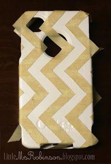 Decorative Otter Boxes Diy Otterbox Customization Paintthen Modge Podge