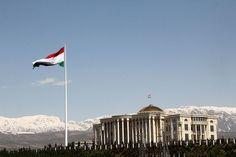 Dushanbe Flagpole – Dushanbe, Tajikistan | Atlas Obscura