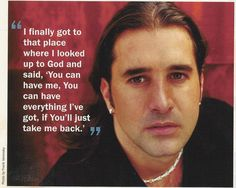 Scott Stapp from Creed