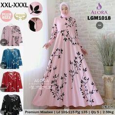 gamis umbrella syar'i LGM1018 - konveksi Baju Online Tangerang