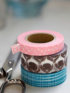 Never heard of washi tape until I got an email from Lotta Jansdotter who has come out with a line of washi tape of her own. I think I'm going to have to get some to play with! Washi Tape Crafts, Paper Crafts, Washi Tapes, Diy Crafts, Tapas, Origami, Scrapbooking, Decorative Tape, Masking Tape