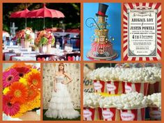 #circus #wedding #theme