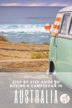 All you need to know about buying a camper van in Australia, from start to finish. Perfect for travellers looking to discover Australia. Be confident to purchase your own vehicle and sell it when you are done! Small Camper Vans, Small Campers, Coast Australia, Australia Travel, Campervan Australia, Van Life Blog, Mission Beach, Van Living, Sprinter Van