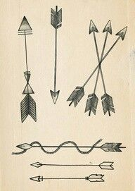 Love the one with 3 arrows. Seriously considering one of these