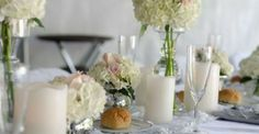 White & Silver decor