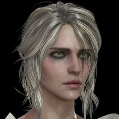for study Substance Painter. I tried to make it as similar as possible to concept art sheet in Witcher But it was so hard to make the mapping look like with the Substance Painter. The Witcher Geralt, Geralt Of Rivia, Brigitte Overwatch, The Witcher Books, Witcher 3 Wild Hunt, Fantasy Portraits, Female Knight, Face Hair, Medieval Fantasy