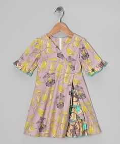 Save Now on this Lavender Bird Cage Vintage Ruffle Dress - Toddler & Girls by Ruby and Rosie on #zulily today!