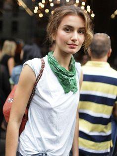 Bandana İle 7 Farklı Stil Oluşturun  #bandana #Trend