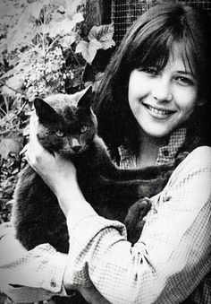1981. Frenc actress Sophie Marceau.