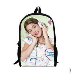 4787157501a Newest Fashion 2016 Violetta 3D School Bags for Girls