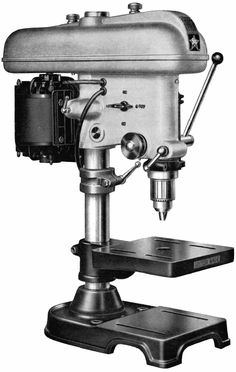 High-quality Britsh made drilling machines by F.Brian sold as the Fobco Star, Fobco Universal, Fonco and Fobco Drilling Machine, Drill Press, Vintage Tools, Machine Tools, Milling, Drills, Espresso Machine, Wood Working, Engineering